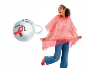 AIDS Rain Poncho