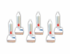 Small AIDS Candles